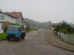 Nová výstavba, ulice Lesní.