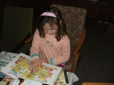 Návštěva knihovny 12.4.2012